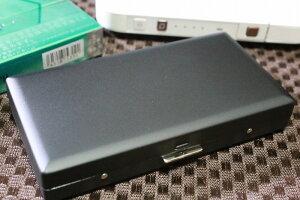 【PEARL】ブランドシガレットケース iQOS (アイコス)ヒートスティック専用 26本 マッドブラック 黒色 / アイコスケース 人気 たばこケース おしゃれ レディース メンズ IQOS ケース 父の日 プレ