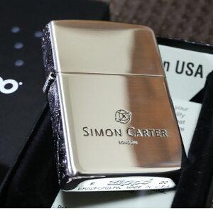 SIMON CARTER 3面ペイズリー 銀いぶし仕上げ ジッポライター サイモンカーター オイルライター おしゃれ プレゼント 人気 ブランド ZIPPO zippo クリスマス 鏡面シルバーかっこいい かわいい