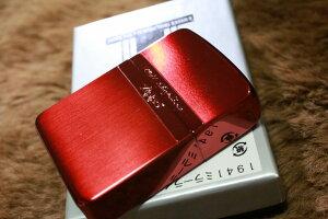 レプリカZIPPO 1941レプリカ ミラーライン レッドサテン ブランド おすすめ 人気 ジッポ 銀 赤 カジュアル 両面加工 お洒落 オイルライター かわいい かっこいい