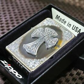 ZIPPO シルバークロス◆いぶし加工 デザインライター ジッポ プレゼント 人気 ジッポ 高級 ZIPPO オシャレ 送料無料 かっこいい