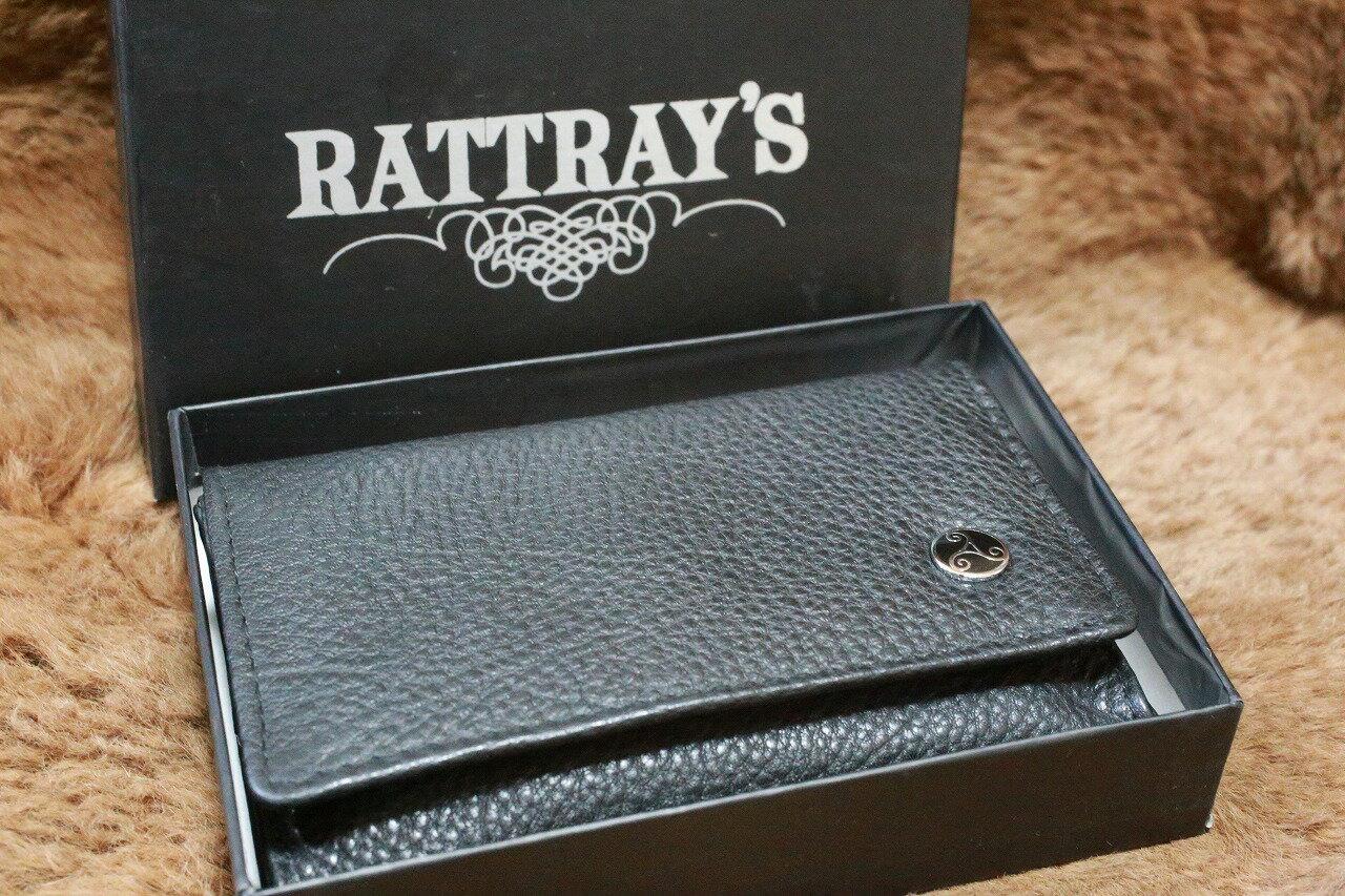【RATTRAY'S】ラットレー 本革製 煙草ポーチ Sサイズ おしゃれ レザー タバコポーチ 手巻タバコ パイプたばこ 煙管 ケース ブランド 葉