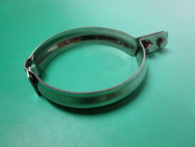 たて菅バンド125 VU・VP125用 140φ ステンレス製(SUS304)厚み2mm 幅32mm 竪管 立管 排水管バンド 伊豫永プレス工業製品
