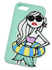 ディズニー限定 アリエル iPhone 6/6s/7/8用スマホケース・カバー グリーン Daichi Miura Princess
