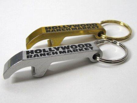 ハリウッドランチマーケット オープナーキーホルダー 金&銀セット