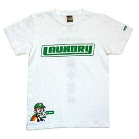 ランドリー DELIVERY BOY Tシャツ 白 SS