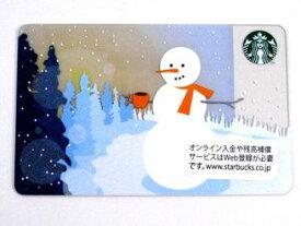 スターバックス カード スノーマンVer2