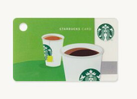 スターバックス カード ミニ COFEE & TEA