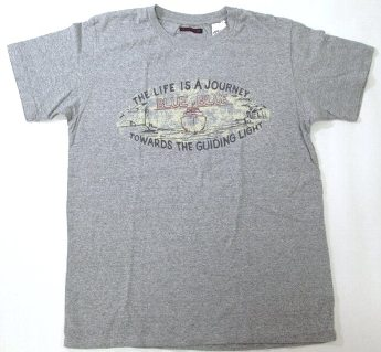 ハリウッドランチマーケット Life is a Journey Tシャツ L