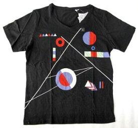 UT ユニクロ テキスタイル Tシャツ 黒 L