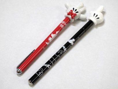 ディズニーストア限定 指さし棒 ミッキー&ミニーセット Ver2 ボールペン付き