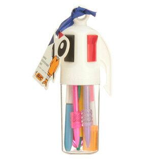 bic 4 color pen pencil case