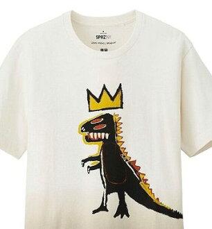 유니크로 UT바스키아 SPRZ NY T셔츠 공룡 L