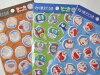 Fujiko Museum limited edition sticker set Dora Doraemon perman