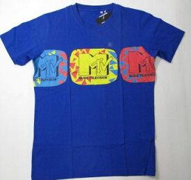 UT ユニクロ MTV Tシャツ 青 L