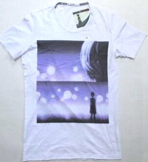 UT UNIQLO Evangelion t-shirt Aya wave white XS