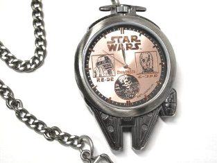 スターウォーズ ミレニアムファルコン型 懐中時計