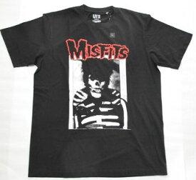 UT ユニクロ MISFITS Tシャツ 黒 L