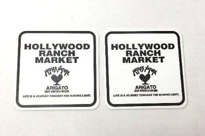 ハリウッドランチマーケット コースターセット ハリラン