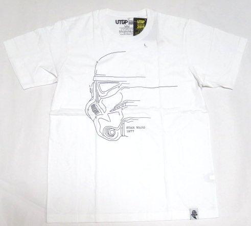 UT ユニクロ ストームトルーパー 輪郭 Tシャツ L