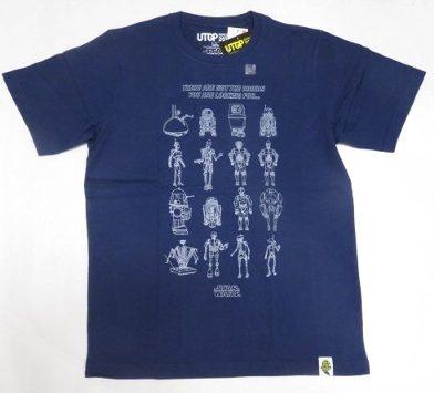 UT ユニクロ スターウォーズ いろいろドロイト Tシャツ L