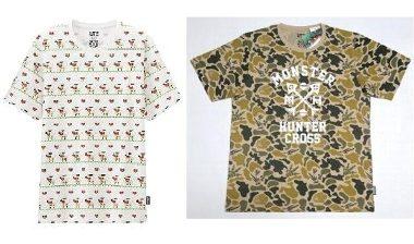 UT モンスターハンター Tシャツセット Lサイズ