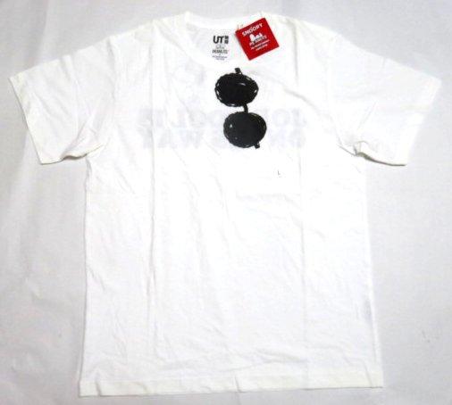 UT ユニクロ スヌーピー メガネ Tシャツ L