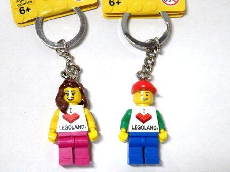 LEGO ペア キーホルダー レゴランド