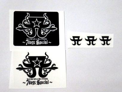 ZAK 浜崎あゆみ ロックンロールサーカス ステッカーセット ロゴ