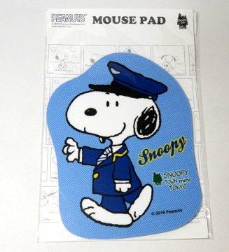 スヌーピー 駅長 マウスパッド