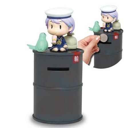ZAK 艦隊これくしょん  艦これ 妖精さん付きドラム缶型貯金箱