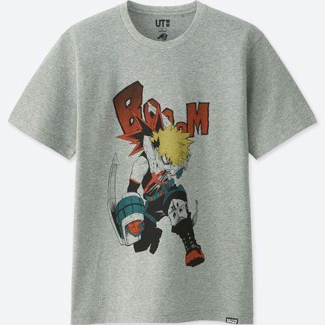 UT ユニクロ 僕のヒーローアカデミア Tシャツ L