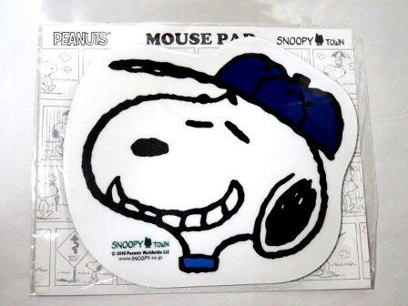 スヌーピー 限定 マウスパッド ベースボール