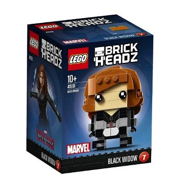 LEGO  キャプテンアメリカ ブリックヘッズ ブラック・ウィドウ