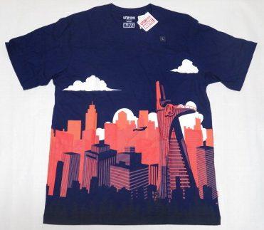 UT ユニクロ マーベル 街とヒーロー Tシャツ L