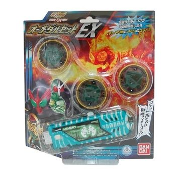 ZAK 仮面ライダーオーズ&仮面ライダーW&スカル MOVIE大戦CORE オーメダルセットEX