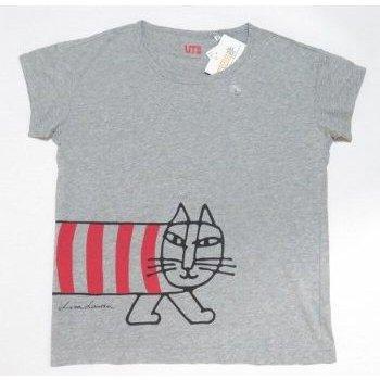 UT ユニクロ リサラーソン Tシャツ 灰 WOMEN Sサイズ