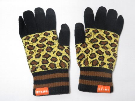 ZAK ビームス × ジョージア スマホ手袋