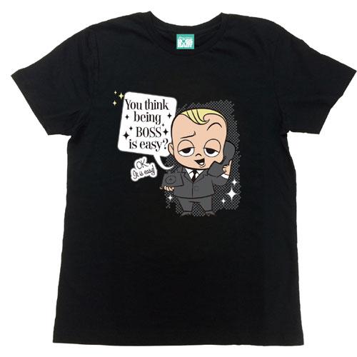 ZAK ボス・ベイビー Tシャツ(おとな)