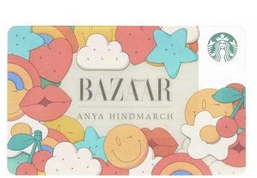 ZAK スターバックス アニヤハインドマーチ カード