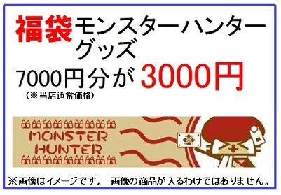 福袋 モンスターハンター グッズ 7000円分が3000円