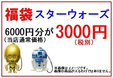 福袋 スターウォーズ 6000円分が3000円(税別)
