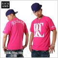 【★あす楽対応★】RICHEND/リッチエンドTシャツ【RELOGO】ピンク×ホワイト