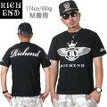 RICHEND/リッチエンドTシャツ【WING】ブラックxホワイト