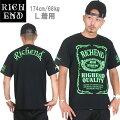 RICHEND/リッチエンドTシャツ【HYBRID/ハイブリッド】ブラック×ライムグリーンAMAZINGアメージング服