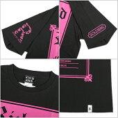 RICHENDリッチエンドTシャツ半袖メンズ大きいサイズEXTRA(ブラック×ショッキングピンク)B系ストリート系ヒップホップダンス衣装ブランドファッションAMAZINGアメージング