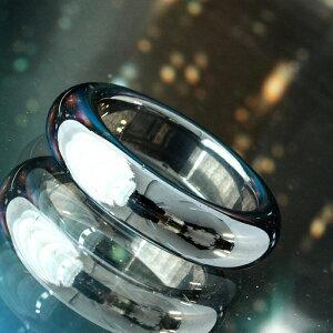 リング テラヘルツ くり抜き ラウンド メンズ レディース 指輪 甲丸 ストレート シンプル 1000円 ポッキリ パワーストーン 高純度 テラヘルツ鉱石 リング [ 送料無料 ][ 即納 ]