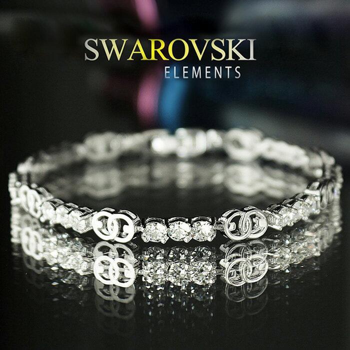 スワロフスキー ブレスレット SWAROVSKI レディース アクセサリー SWAROVSKI エレメンツ ラグジュアリーブレスレット [送料無料] [即納]