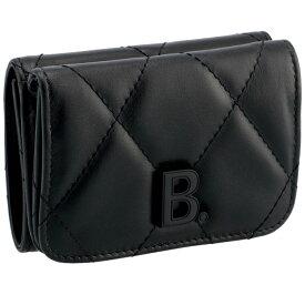 バレンシアガ BALENCIAGA 財布 三つ折り ミニ財布 ミニウォレット TOUCH MINI ブラック 617781 1WN17 1000【06-SS】