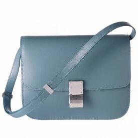 c21cceb7495d セリーヌ CELINE 2019年春夏新作 バッグ ショルダーバッグ CLASSIC BOX クラシックボックス ミディアム ブルー