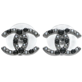 Chanel /CHANEL metal piercings A63870 Y09449 Z3550
